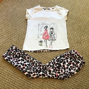 Adorable Girls Size 8 Outfit From Gymboree